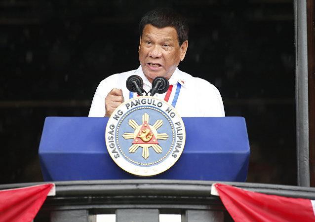 菲律宾总统罗德里戈•杜特尔特
