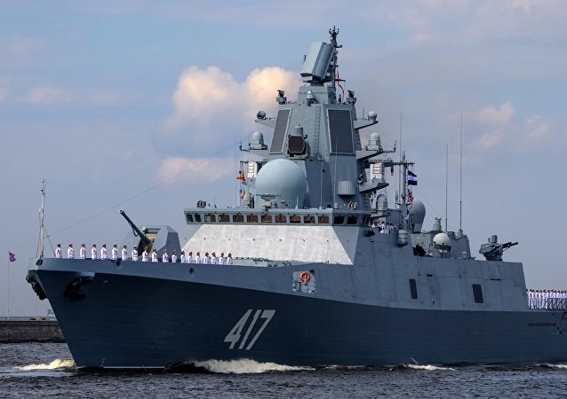 俄新型導彈護衛艦戈爾什科夫海軍上將號