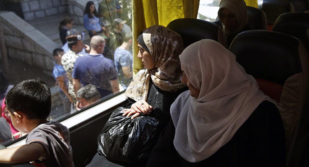 過去24小時有120多名敘利亞難民從黎巴嫩回國