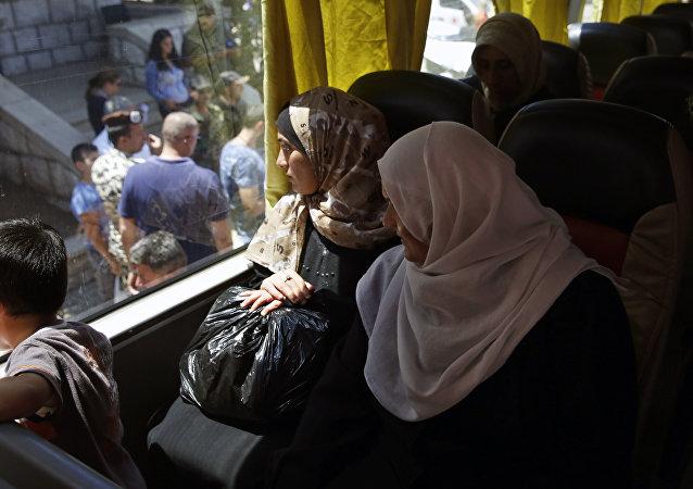叙利亚塔尔比塞赫被解放后居民数量增加超过一倍