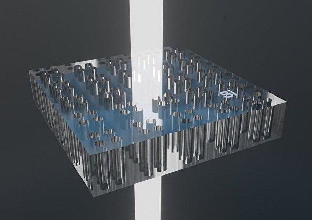 """科学家为太阳能电池研制出""""理想的谐振器"""""""