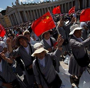 中国的宗教活动将在国旗下进行