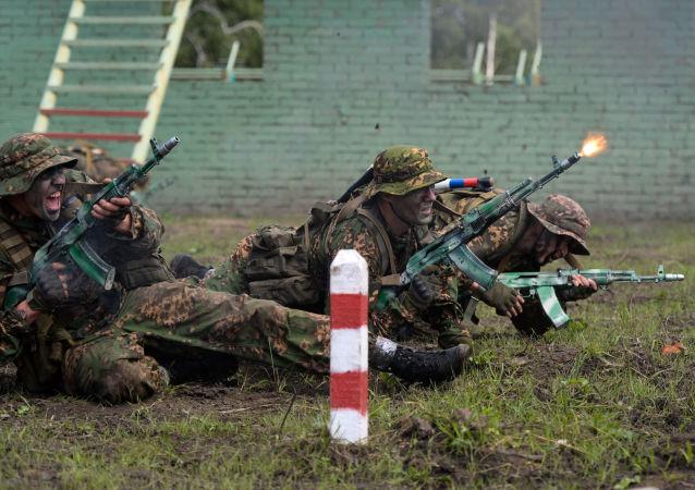 国际军事比赛情报大赛