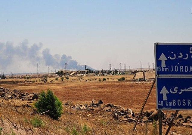 俄军总参谋部:叙政府军全面恢复对叙约边境的控制