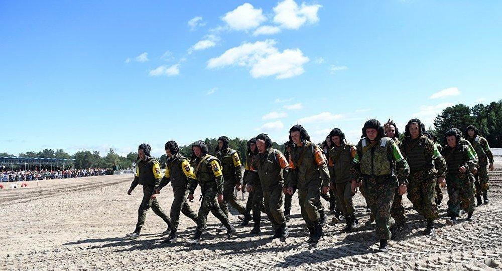 """俄记者高度评价库尔勒为举办""""国际军事比赛-2018""""所进行的现代化改造"""