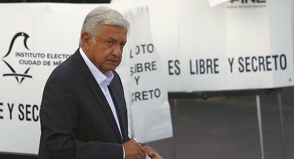 墨西哥總統安德烈斯·曼努埃爾·洛佩斯·奧夫拉多爾