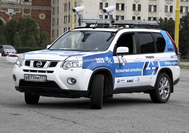 用認知科技公司人工智能系統的無人汽車