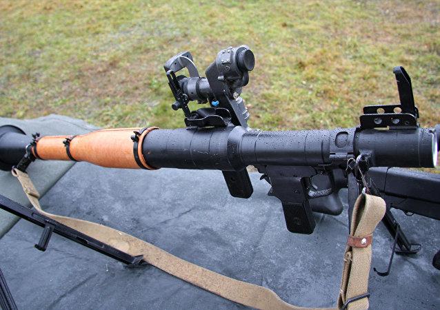40毫米手持反坦克榴彈發射器RPG-7V