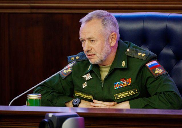 俄羅斯國防部副部長亞歷山大·福明