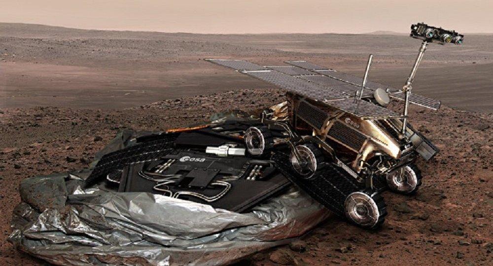 Рисунок марсохода программы ExoMars
