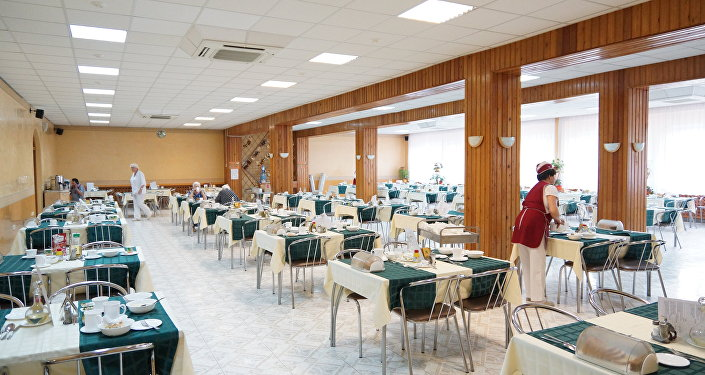 莫斯科第三十一老職工養老院食堂