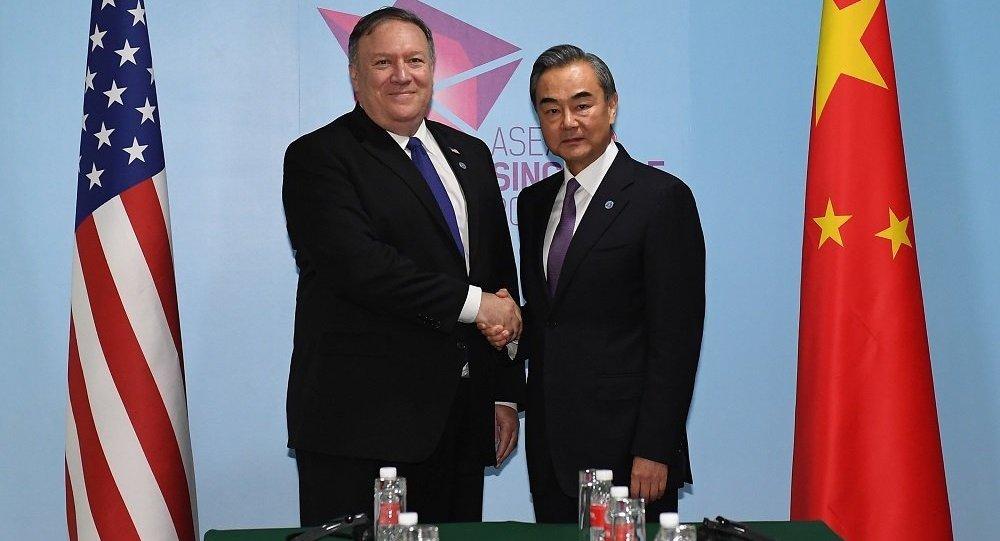 美国务院:美中外长讨论朝鲜无核化和南海问题
