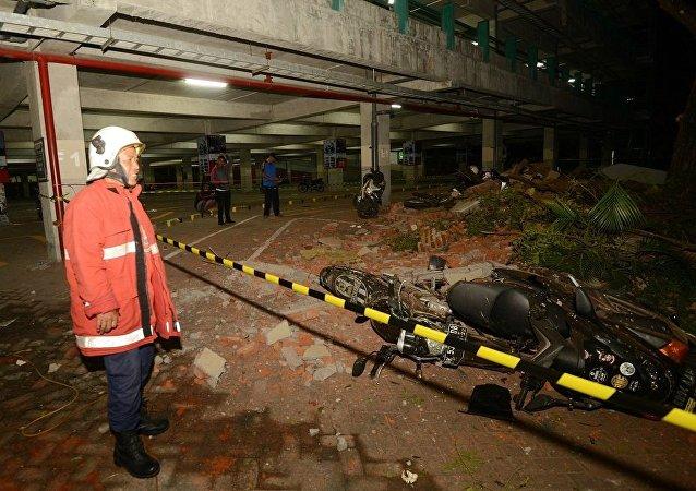 暂无中国游客在印尼地震中伤亡报告