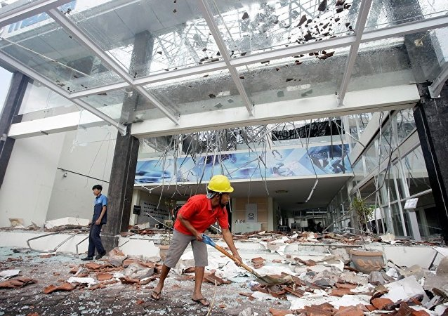 印尼地震(资料图片)