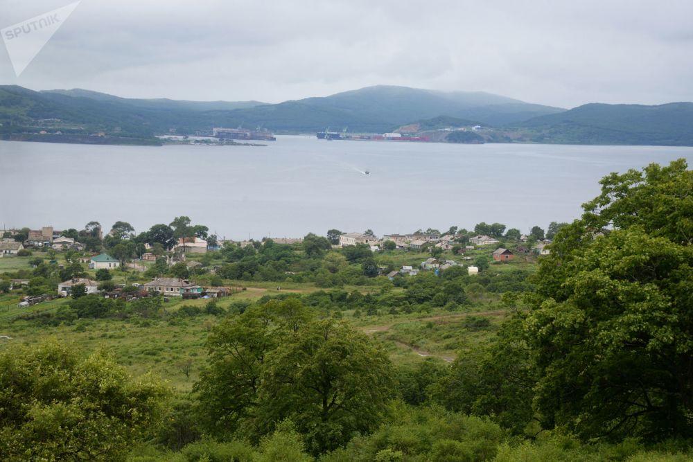 俄濱海邊疆區普提雅廷島