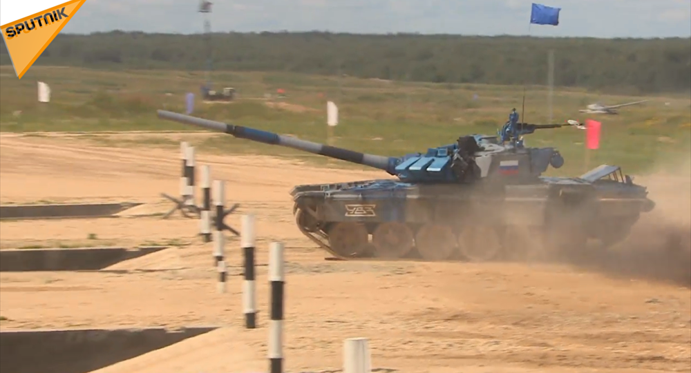 「坦克兩項」第一階段比賽結束