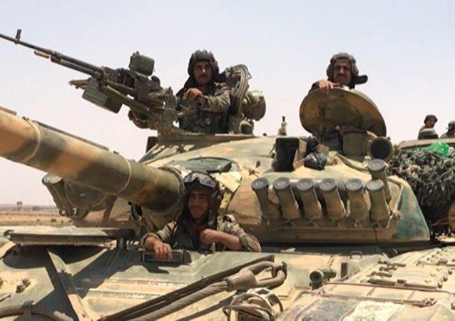 叙军切断恐怖分子位于哈马和伊德利卜之间的补给通道