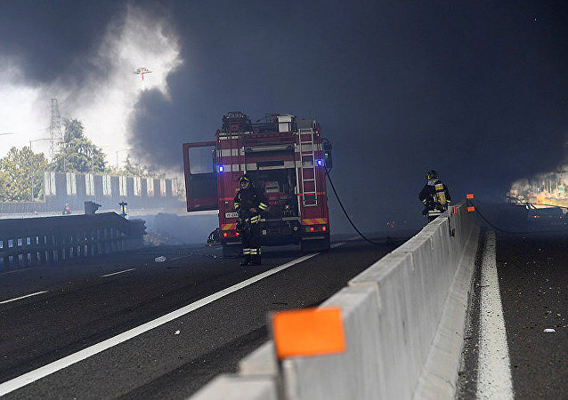 意大利博洛尼亚油罐车爆炸事故