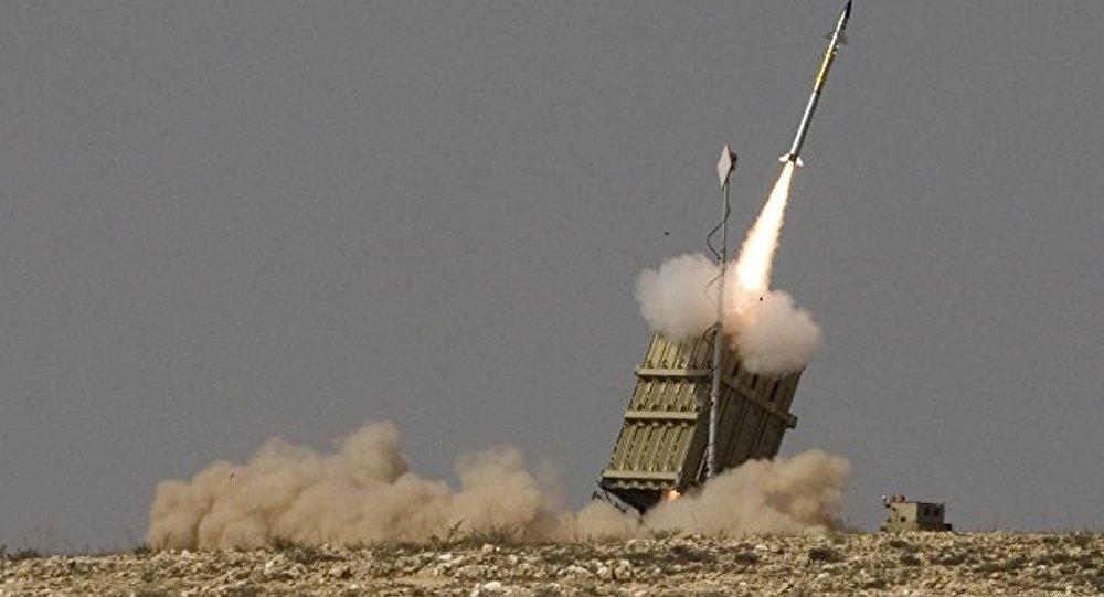 Израильские военные засекли пуски 8 ракет из Газы, сбили две из них