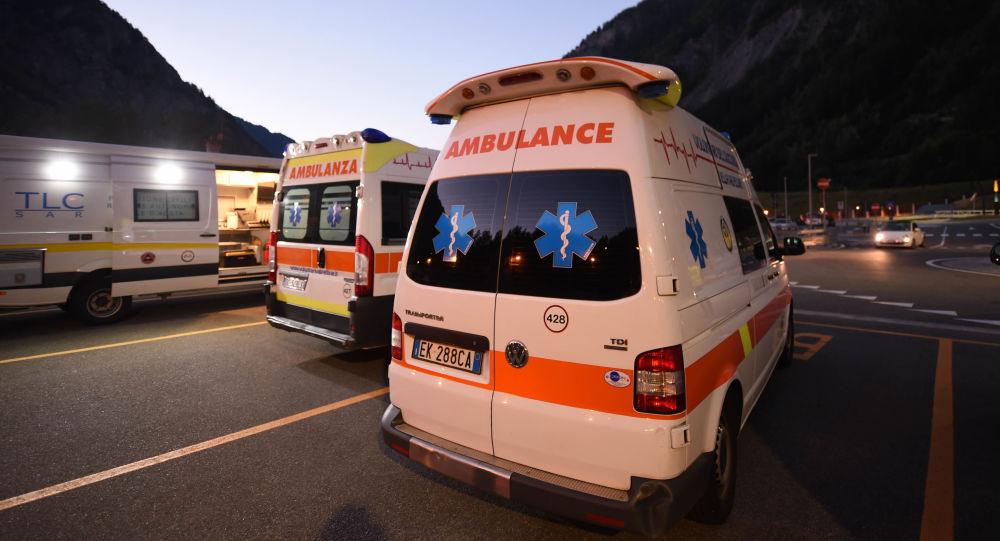意大利踩踏事件後約60人住院