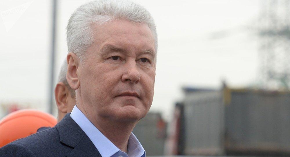 莫斯科市市长谢尔盖·索比亚宁