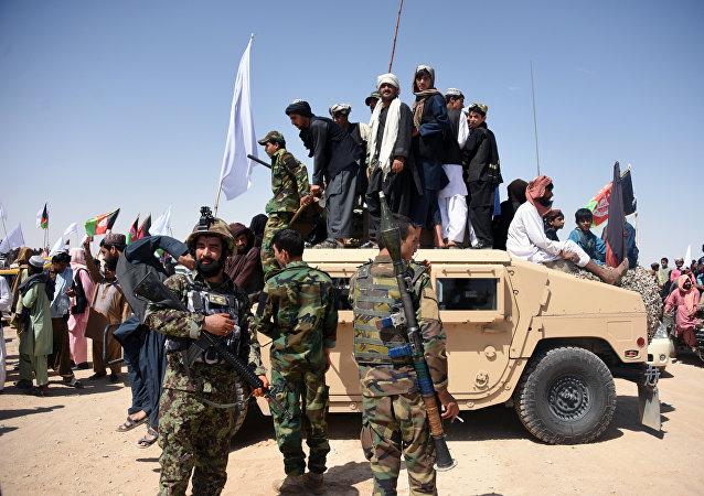 阿富汗一军事基地遭塔利班袭击 45名强力人员死亡