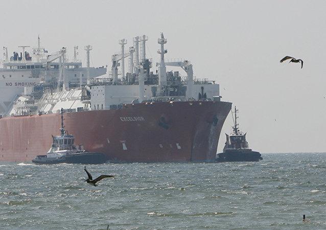 美液化天然气或遭贸易战扼杀
