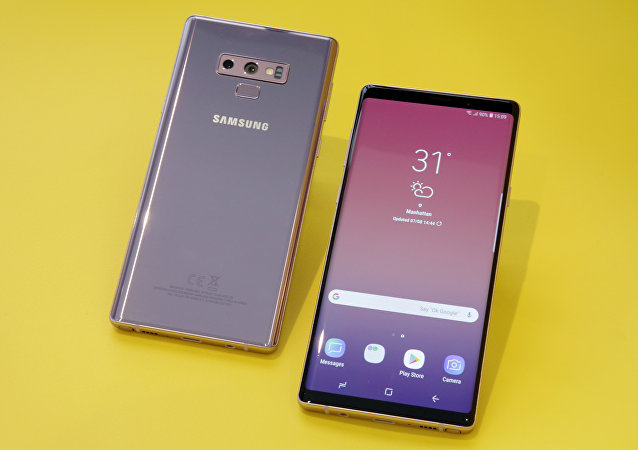 The Samsung Galaxy Note 9