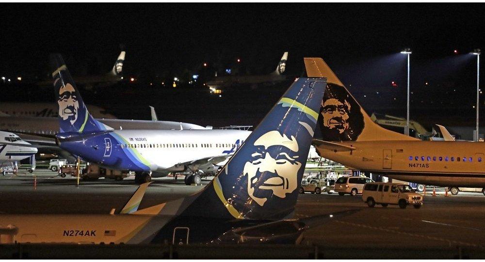 阿拉斯加航空公司(Alaska Airlines)的客機