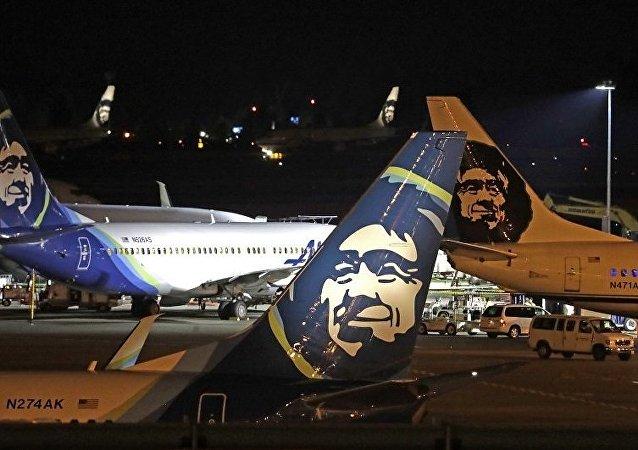阿拉斯加航空公司(Alaska Airlines)的客机