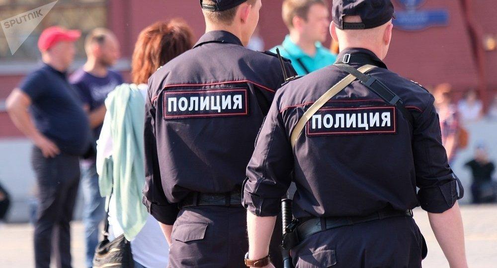 莫斯科警察(資料圖片)