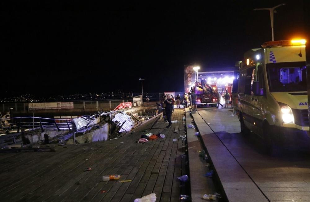 西班牙一音乐会发生木结构倒塌造成260余人受伤