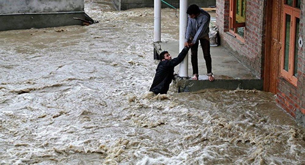 印度内政部:印七个邦遭暴雨袭击 770多人死亡