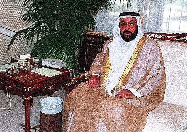 阿聯酋總統哈利法·本·扎耶德·阿勒納哈揚