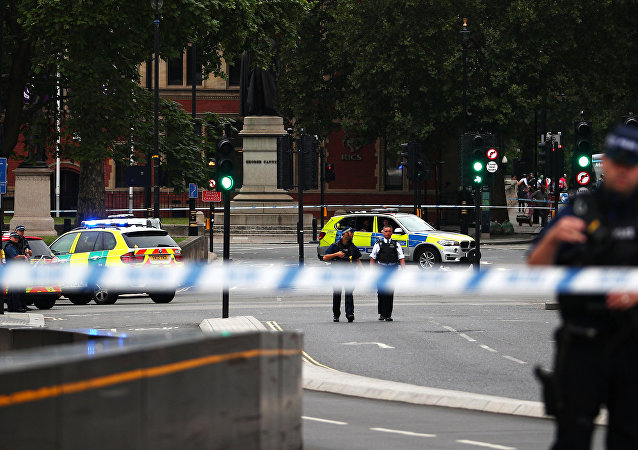 英國警方將汽車衝撞倫敦議會大廈旁安全護欄事件視為恐怖襲擊