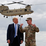 美国为对抗俄中两国而通过创纪录性军事预算