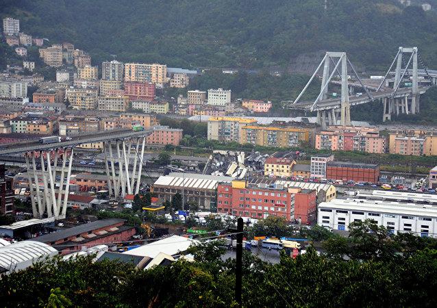 热那亚大桥垮塌已导致22人遇难