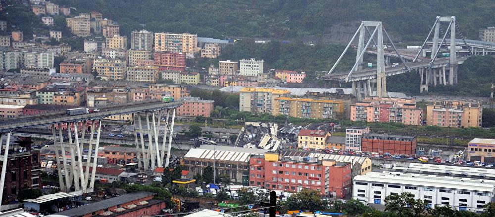 意大利交通部:热那亚高架桥坍塌事故遇难者增至22人