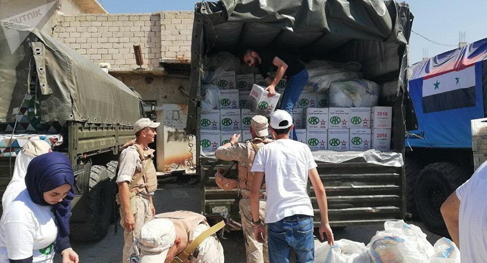 对叙利亚提供人道主义援助