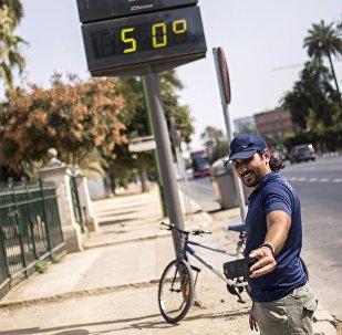 科学家们警告未来五年将创纪录地炎热