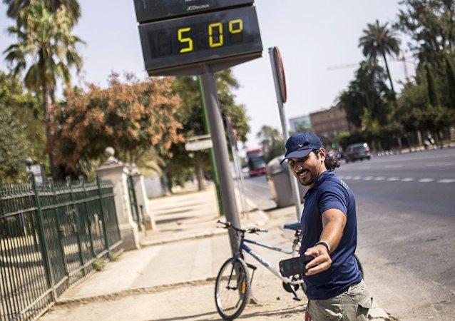 科學家們警告未來五年將創紀錄地炎熱