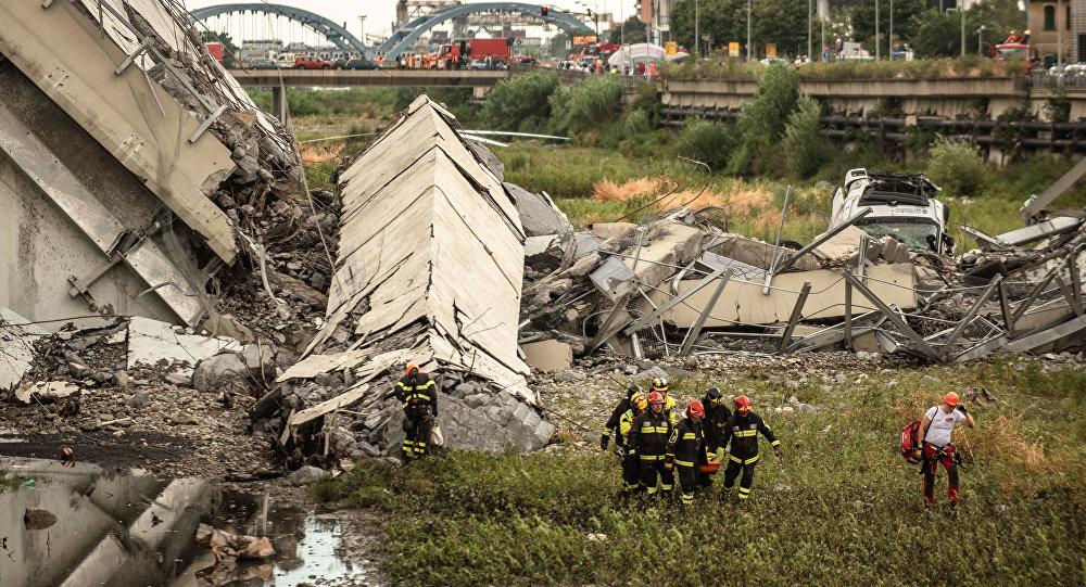 大部分意大利热那亚高架桥坍塌事故遇难者的身份得到确认