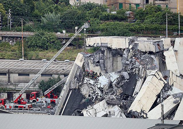 意大利热那亚高架桥坍塌事故