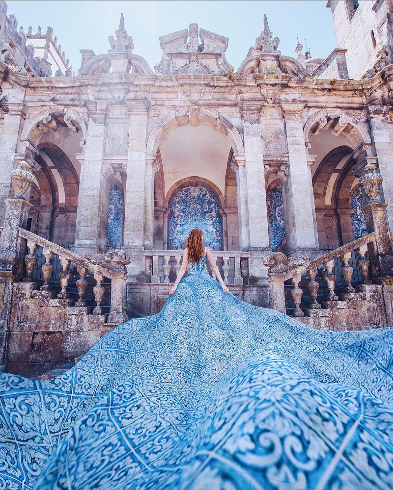 世界各國「穿裙子的女孩」