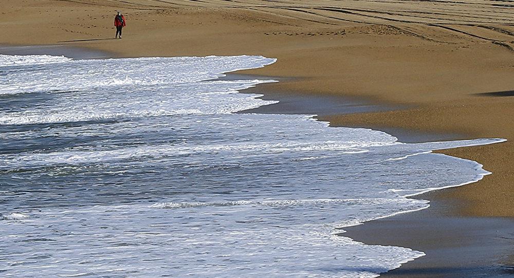 外媒:一战期间德国潜艇的残骸出现在法国的沙滩上