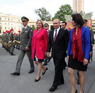 普京或作为嘉宾出席奥地利外长婚礼