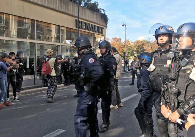 2017年法国警方枪械使用率增加54%