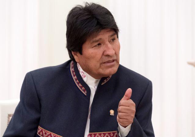玻利维亚总统期待普京11月来访见证玻方与俄气签署投资协议