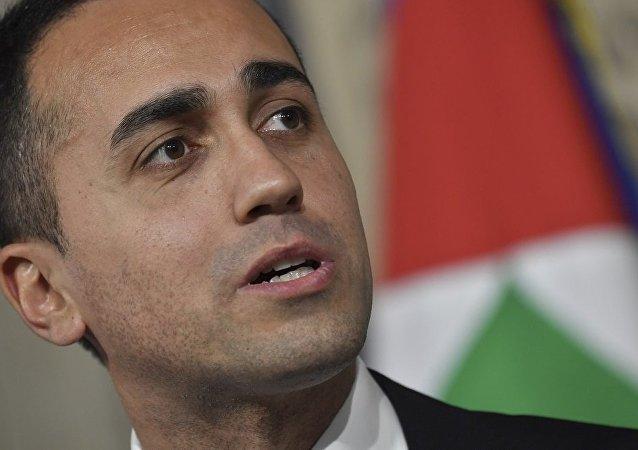 意大利副总理兼经济发展与劳动部部长路易吉·迪马约