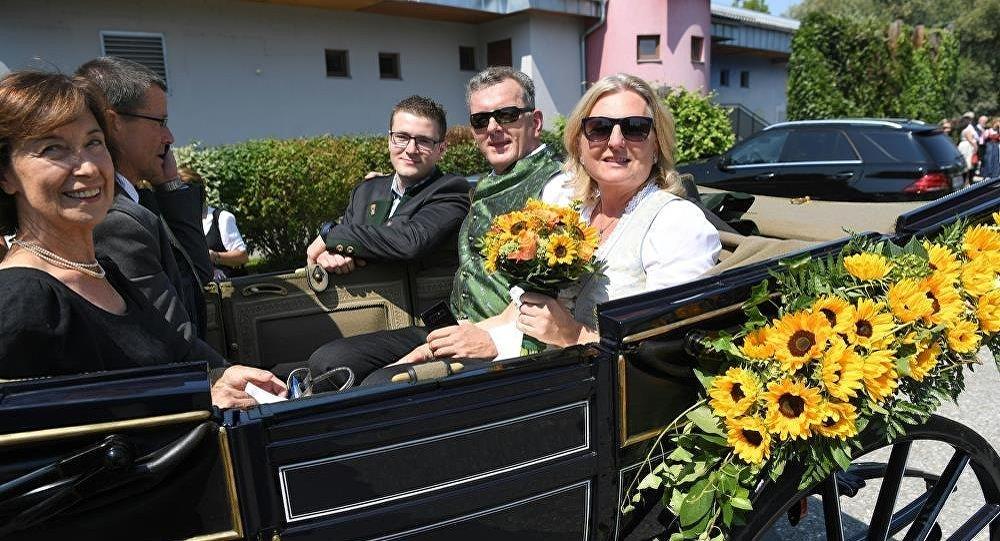 奧地利外長婚禮
